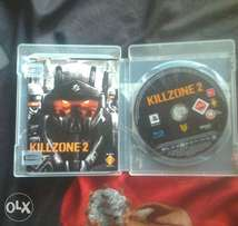 KILLZONE-2 PS3 game disc