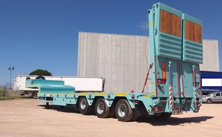 Lider trailer HARDOX 450