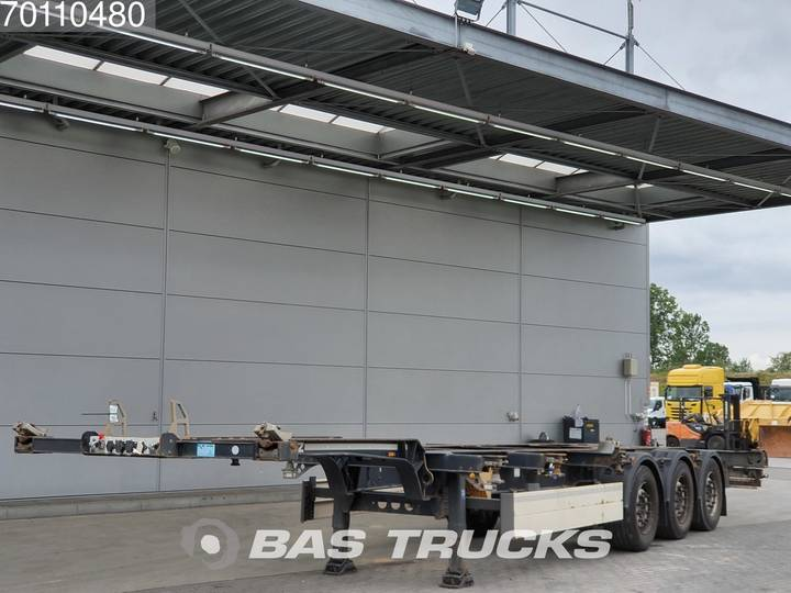 Schmitz Cargobull SGF*S3 2x20-1x30-1x40 ft. 3 axles Liftachse - 2013
