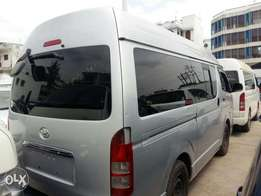 Toyota Hiace highroof low mileage
