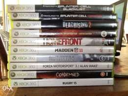 Selling this 10 games.