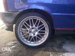 """17"""" mags tyres 4x100pcd"""