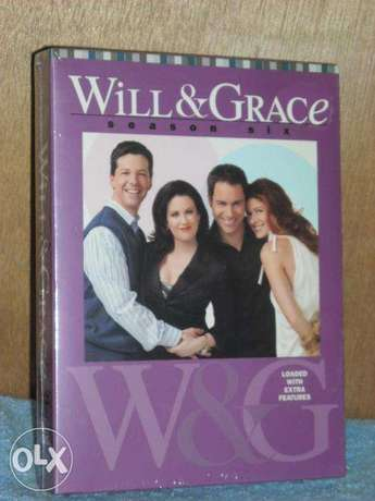 will and grace seasons 6 and 8 dvds series original