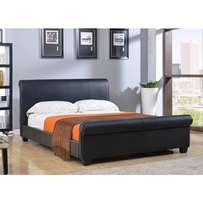 leatther bed