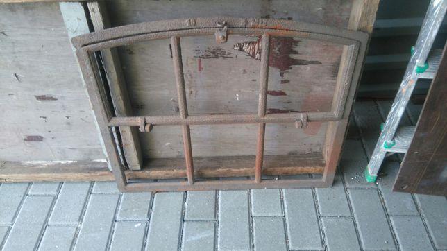 Ogromny Stare Okno zeliwne wypiaskowane Inowrocław • OLX.pl JJ49
