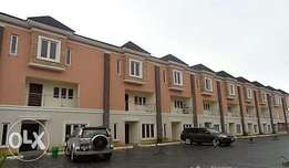 4 bedroom terraced duplex for rent in Osapa, Lekki