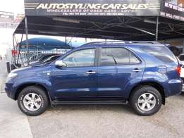 Autostyling Car Sales-East London-Bargain- Toyota Fortuner 3.0 D4-D
