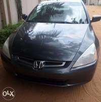 Super clean & sound honda accord ex 05. For sale in asaba