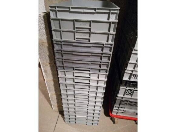 Sale stacking containers 600 * 400 mm storage box for  by auction
