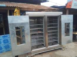 Commercial gas oven one bag (126 loaves/output)