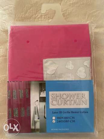 New Beautiful Shower Curtain in sealed packing