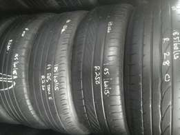 185/60/15 and 185/65/15 second hand tyres