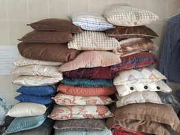 70 cushions/inners for sale