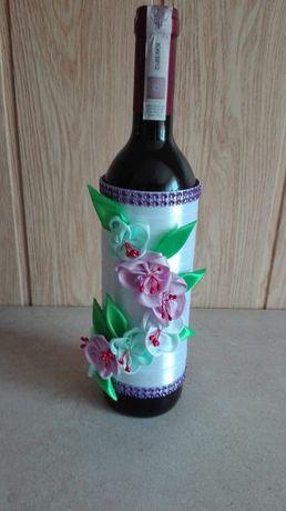 Wspaniały Ubranko na butelkę wino ślub dekoracja Izbice • OLX.pl ZW93