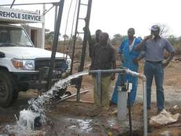Borehole Test Pumping services