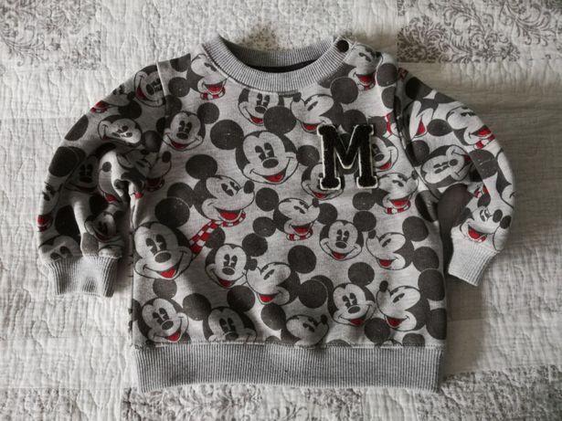 Bluza Zara, Mickey!, roz 80, stan idealny! Kościan • OLX.pl