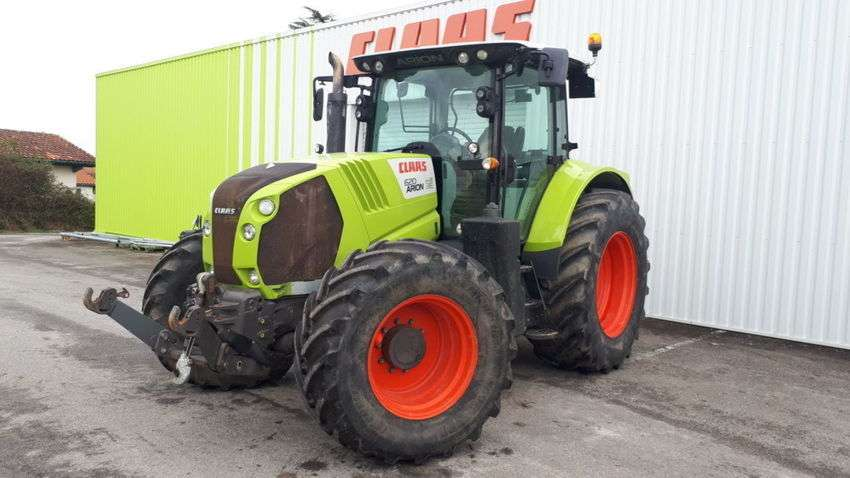 Claas arion 620 cis t4i - 2012 - image 2