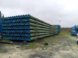 Fibre and Black Coated Pipes FOR SALE