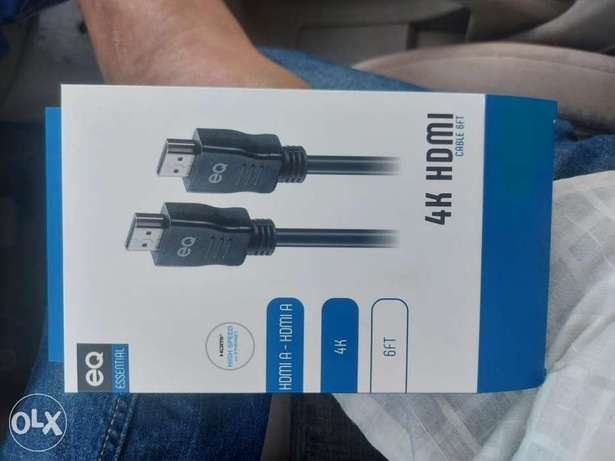 Hdmi new cable only open not use