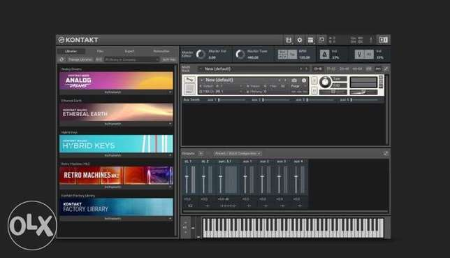 Kontakt Library 700+ gb with installation