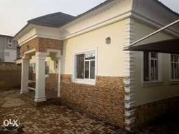 Brand new 3bedroom/mini flat bungalow for sale