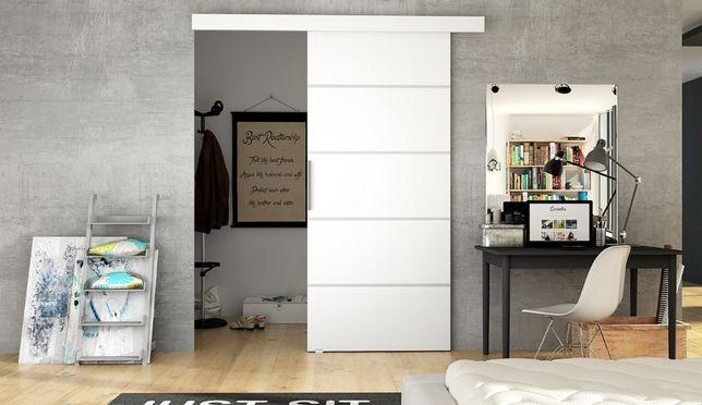 Drzwi Przesuwne Naścienne Mati 3 205 X 86 Cm Dostawa 7 Dni