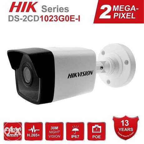 Hikvision 2MP POE IP Camera Bullet DS-2CD1023G0E-I H.265+ Indoor/Outdo