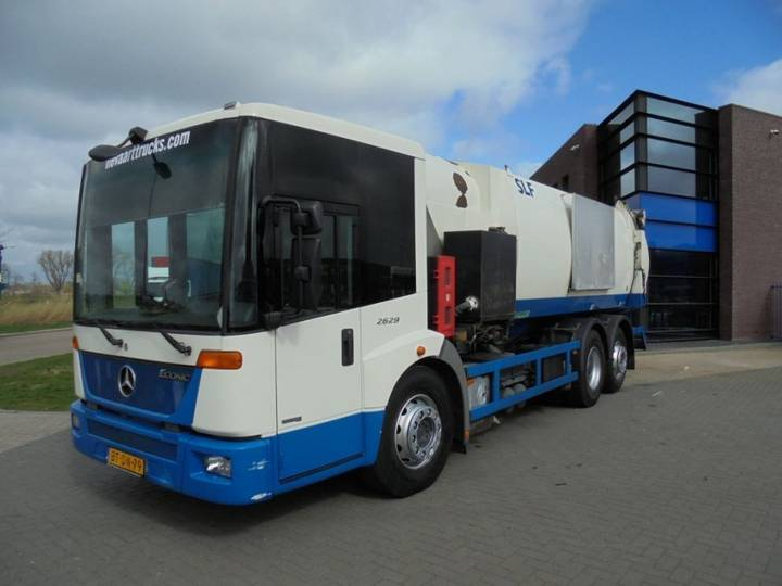 Mercedes-Benz Econic 2629 Garbage Truck / NL Truck / 182.000 KM / Haller - 2007