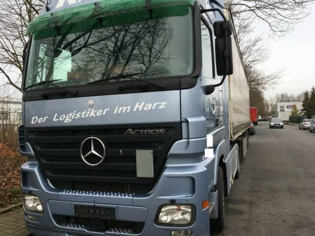 Mercedes-Benz 1844 Megaspace German Truck Euro:5 Vollausst - 2008