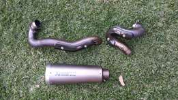 Akropovic full system exhaust