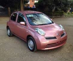 Just Arrived KCJ 2009 Nissan March Collete Edition (Ksh 495,000) Fixed