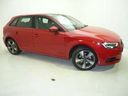 2017 Audi A3 1.4 T Sportback Stronic, Red, Stronic, Sunroof, Bluetooth