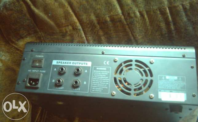 Like Brand New 2 Dixon 15 inch Speakers, 6 Channel Powered Mixer... Kempton Park - image 3