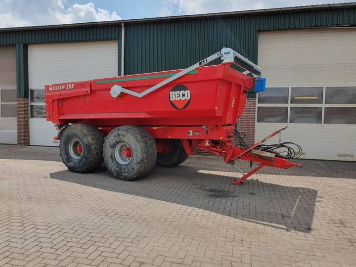Beco Haakarm Carrier.Used Beco For Sale Tradus Com
