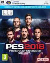 Pro Evolution Soccer 2018 PC Game