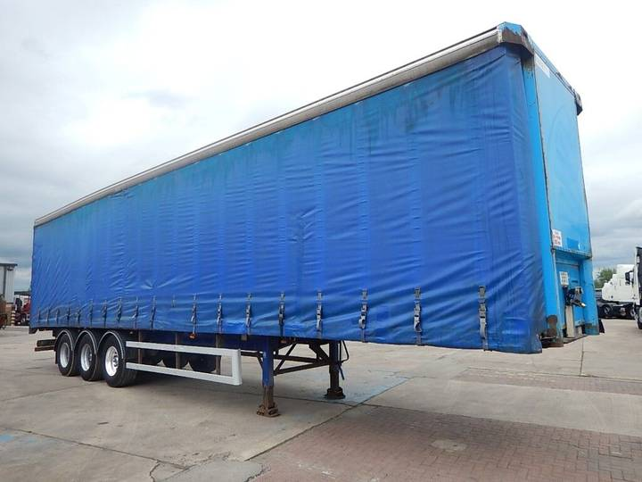 SDC 45FT CURTAINSIDE TRAILER- C108573 - 2003