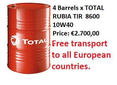 Total Rubia Tir 8600 10w-40 - 2017