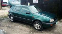 Sharp Green Volkswagen golf3 available for sell