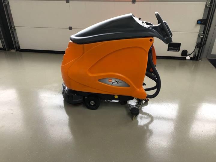Taski 1255 B Schrob/Zuig machine - 2013