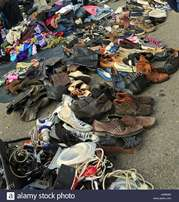 we buy old clothes and shoes