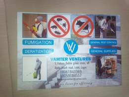 Call Vamter Ventures 4 Your Fumigation and Deratization