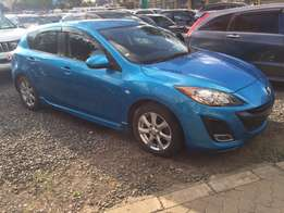 Mazda Axela hatchback, 1500cc, 2009, kck, alloys, foglights, tiptronic