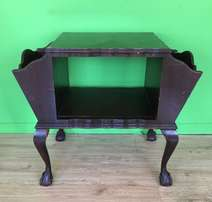 ball and claw side table / magazine rack