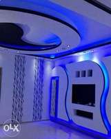 gypsum ceiling and interrior exterrior design.