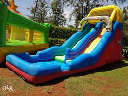Mini water slide for hire!!free birthday gifts