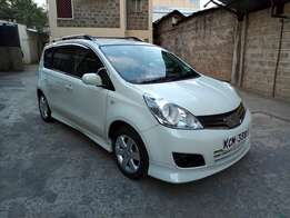 Nissan Note, Pearl, 1.5X, 2010, 1500cc, A/Rims, Aero Kit, R/Rails