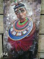 maasai woman bead wear