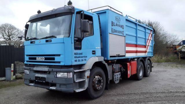 Iveco 240E38 6x2`4 KSA SaugDruck Wasserrückgewinner - 1999