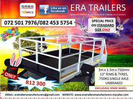 3m multipurpose trailer for sale sabs approved