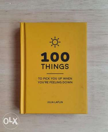 100 Things To Pick You Up When You're Feeling Down pocket book.